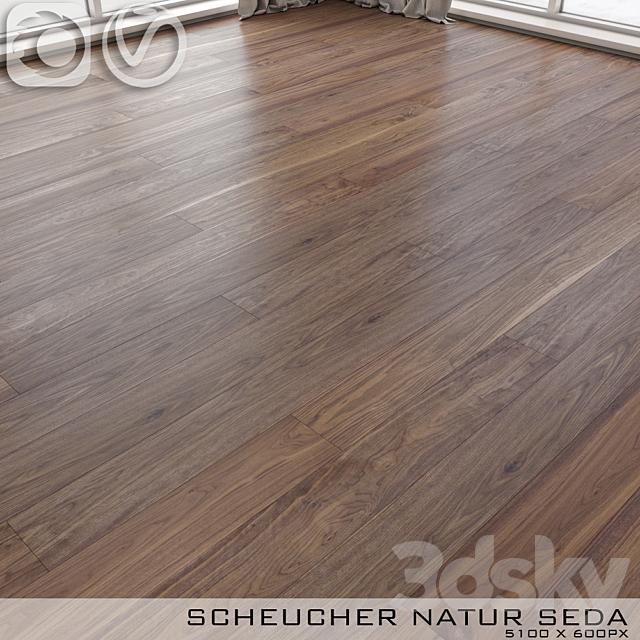 Parquet board Scheucher Walnut Natur Seda