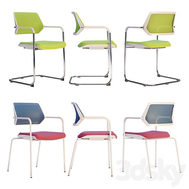 Steelcase - Office Chair Qivi Set1