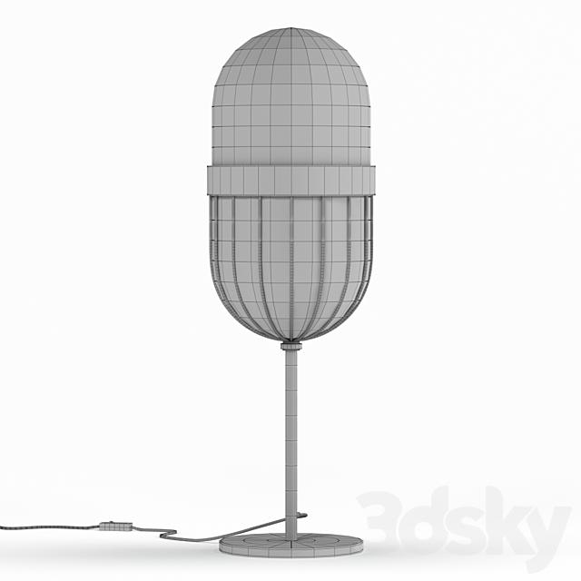 Kare Table Lamp Swing Jazz Oval