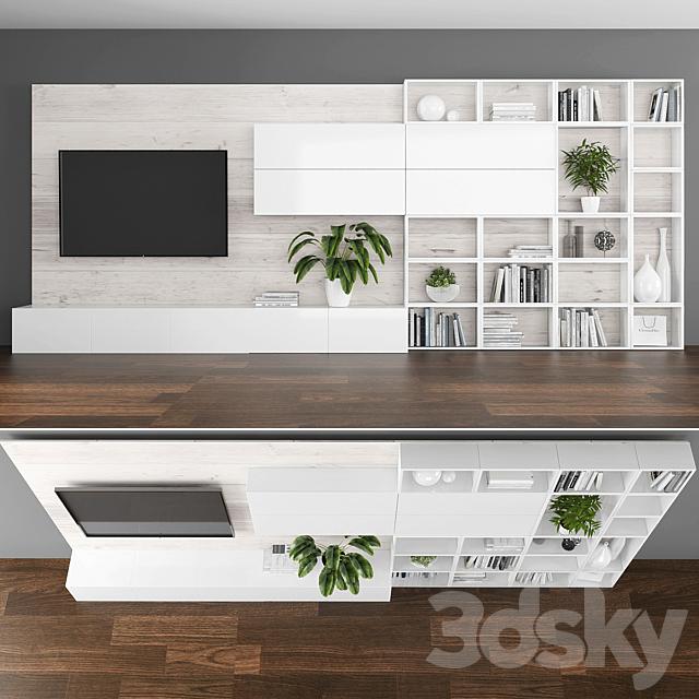 TV stand set 067