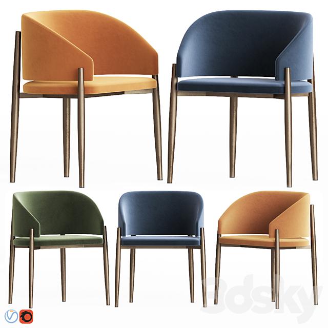 Pioggia chair by Piero Lissoni