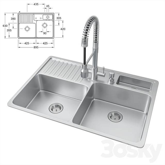 Nabu sink and lux mixer