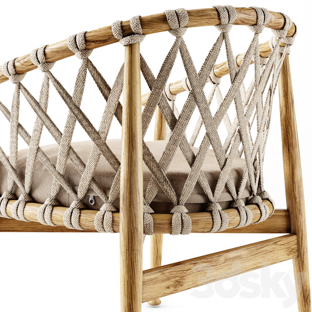 Tomoko armchair
