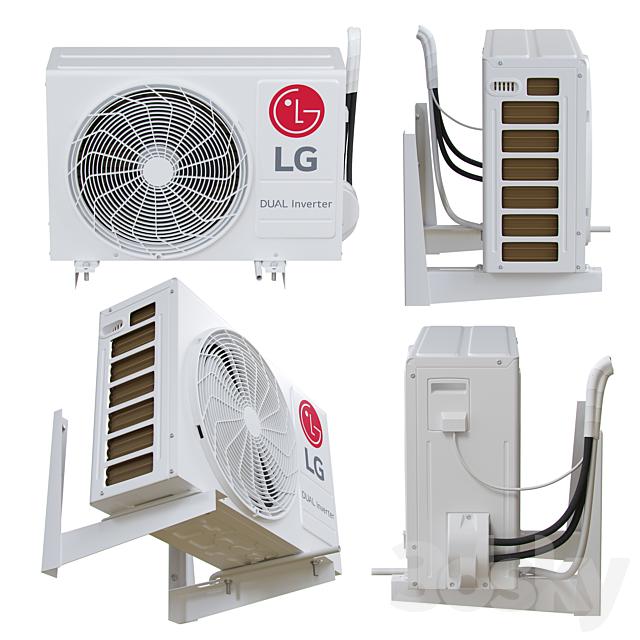 LG - P12SP (external air conditioning unit)