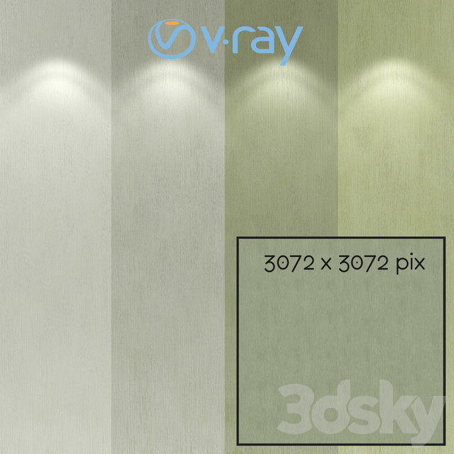 Decorative plaster, single layer option 207