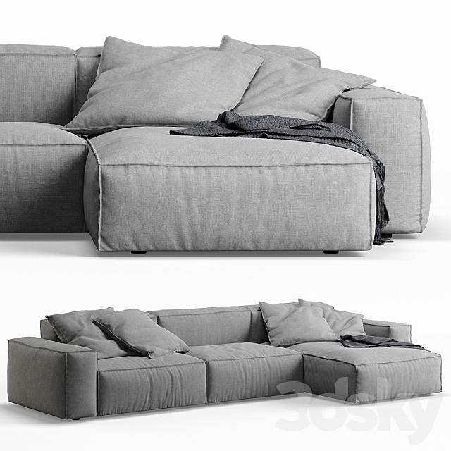 NeoWall Corner Sofa by Living Divani