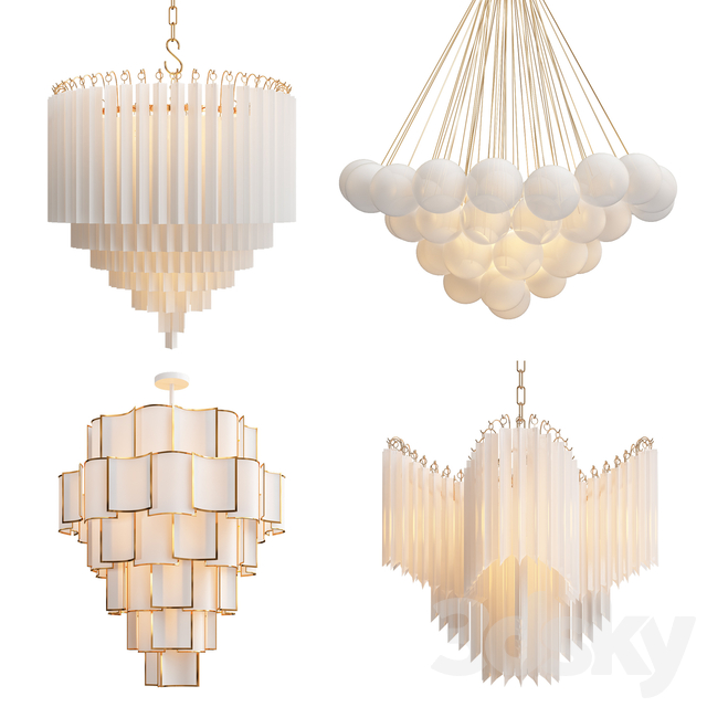 Collection of modern chandelier