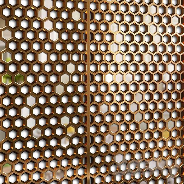 Decorative partition 11
