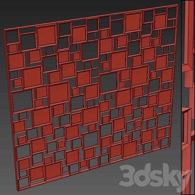 Decorative partition 13