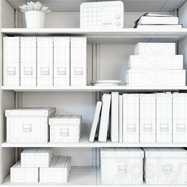 Ikea Bekant workplace part 2