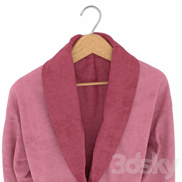 Women's bathrobe