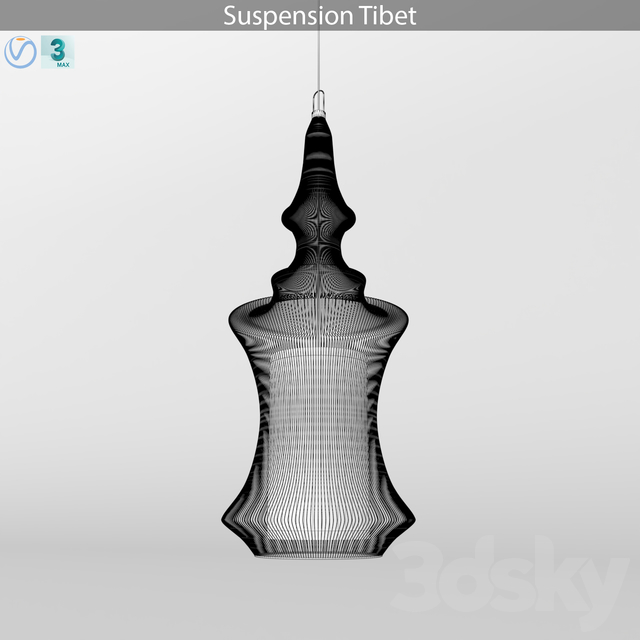 Suspension tibet