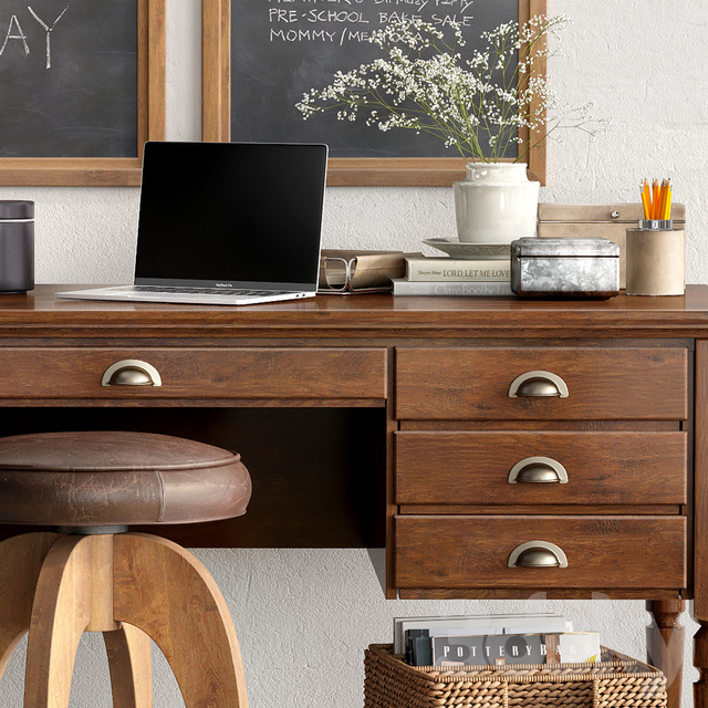 Pottery barn PRINTER'S HOME OFFICE COLLECTIONS