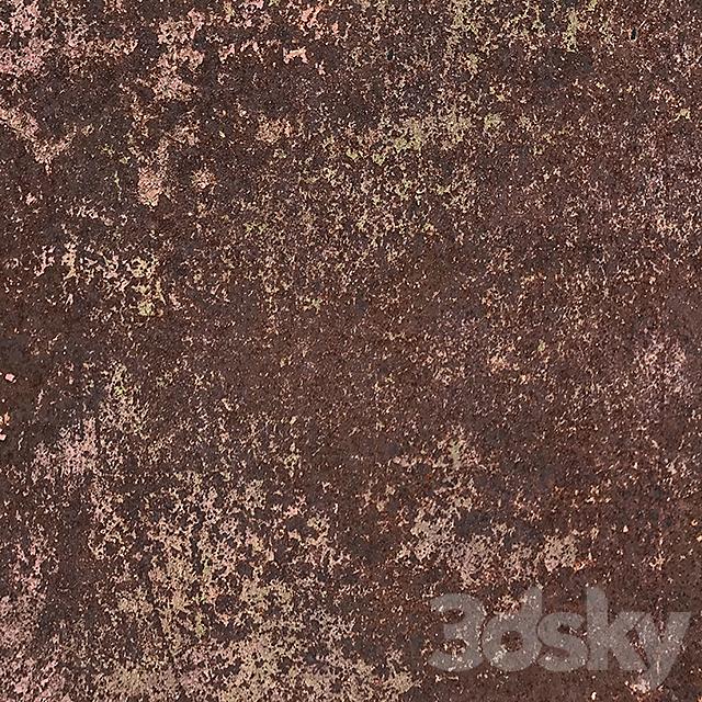 Heavily rusted metal