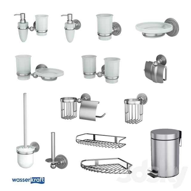 Bathroom Accessories Ammer_Matte Chrome_OM