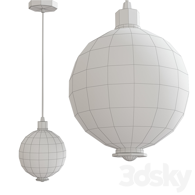 Scandlight Sally Chandelier (low poly)