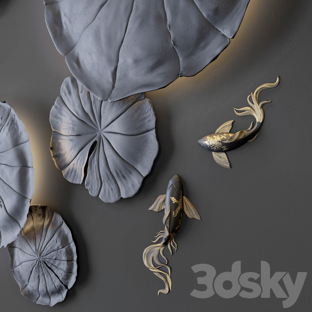 Wall decor - Water Lily
