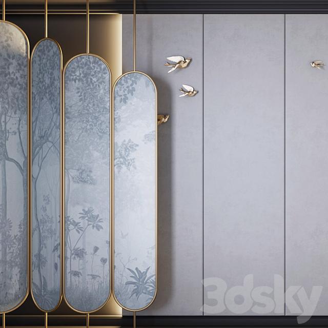 Decorative wall 4 - shirma