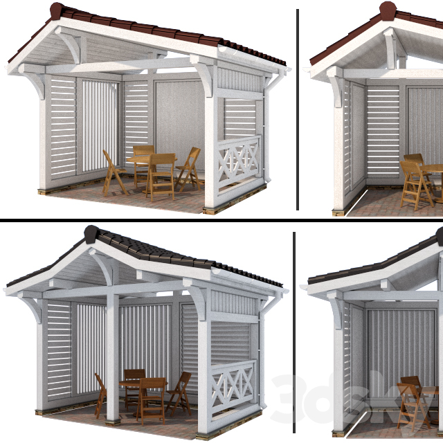 Arbor in a modern style (2 options)