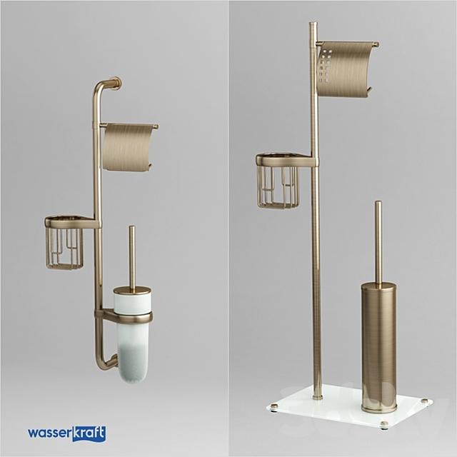 Combined toilet racks_light bronze_OM