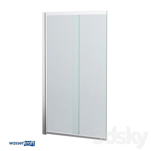 Glass curtain for the bathtub Main 41S02-80_OM
