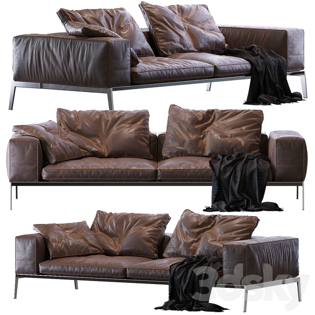 Lifesteel Flexform Sofa