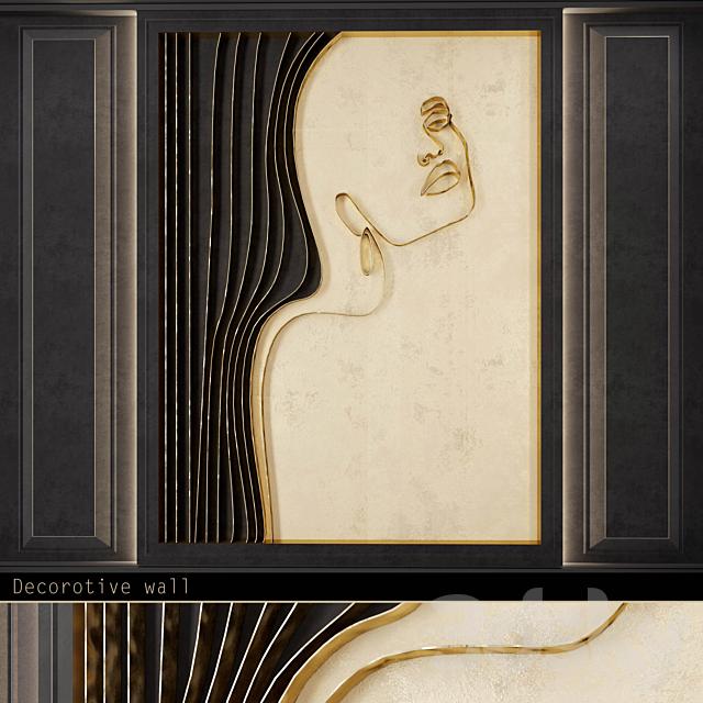 Waves - Metal wall panel _WL24
