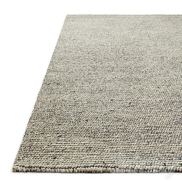 Moray Hand-Braided Wool Rug RH