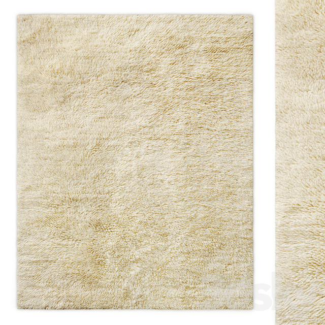 Tahir Handwoven Wool Shag Rug RH