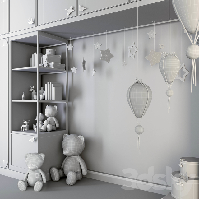 Wardrobe for kids room (2)