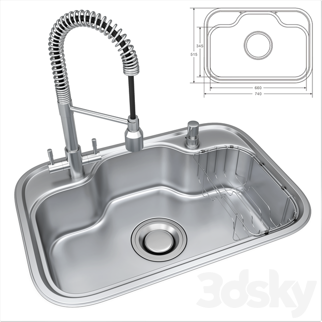 Sink DS740 and lux mixer