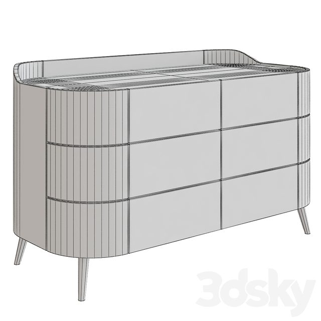 Kelly Chest of Drawers by Poliform