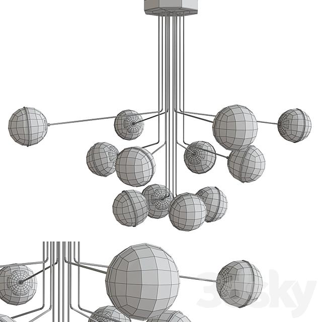 Turenne Large Dynamic Chandelier Circalighting