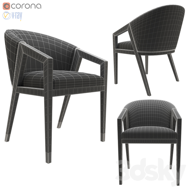 Frato borneo dining chair