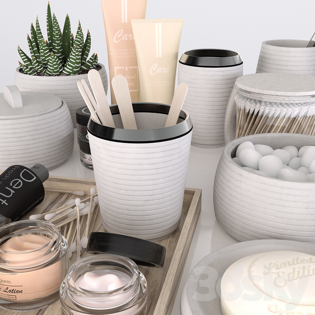Bathroom Decorative Set 02