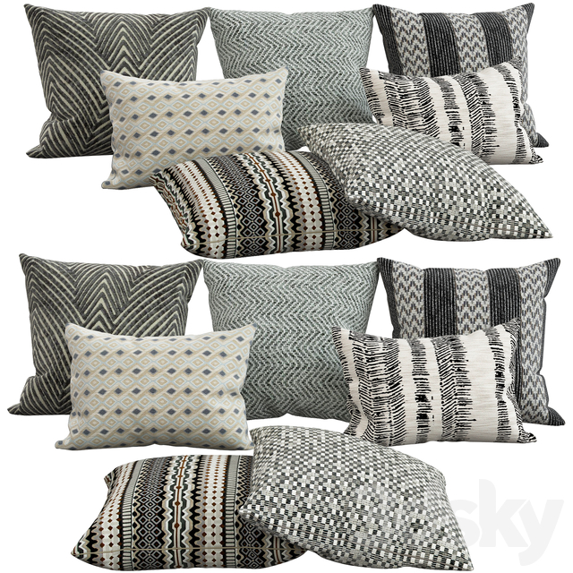 Decorative pillows, 32