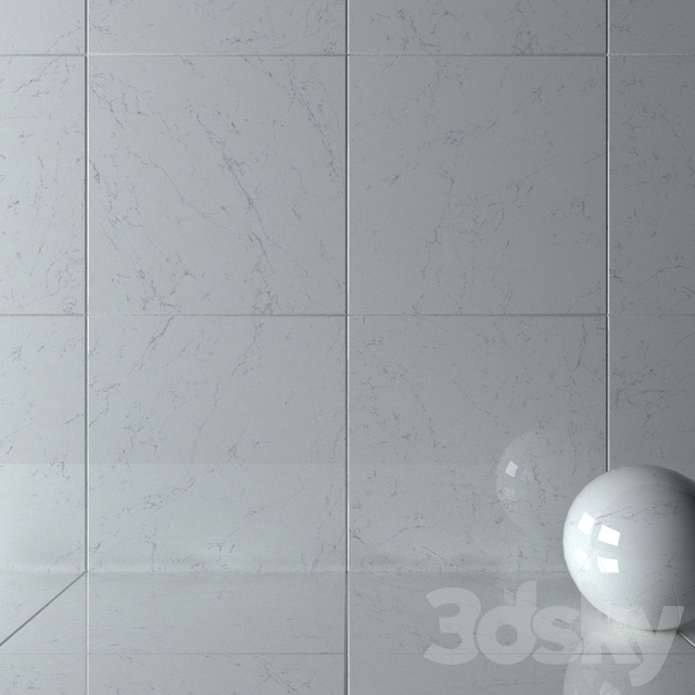 Wall Tiles 341 Carrara Pure Set 4