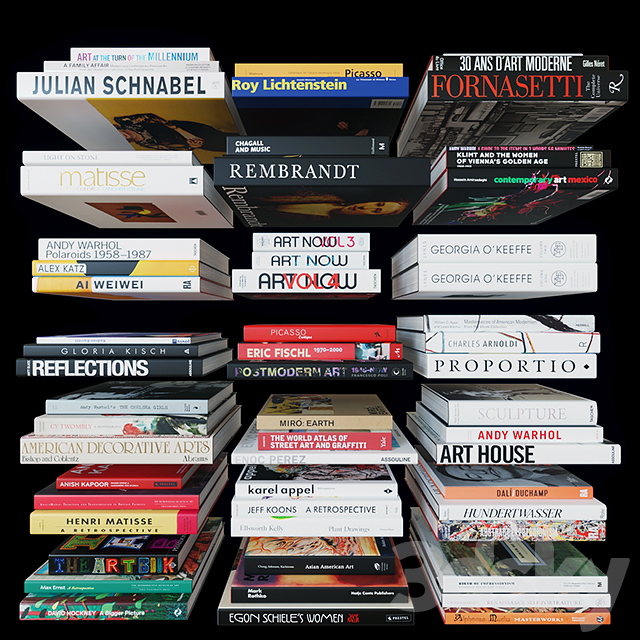 Coffee Table Books: Art