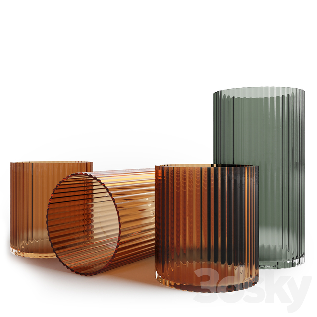 H&M home - Flute vase collection