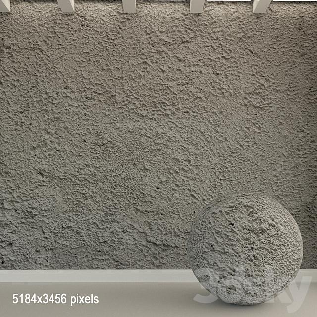 Concrete wall. Old concrete. 126
