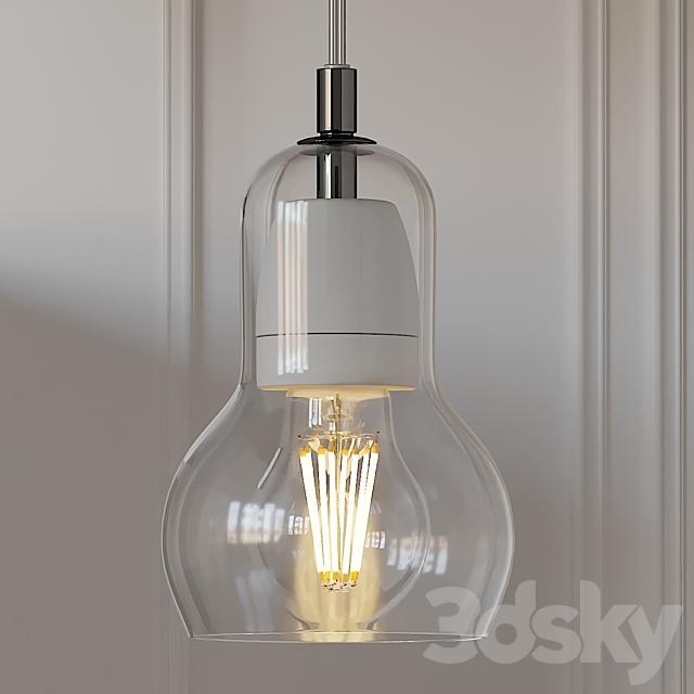 NOVA 68 Tradition Modern Glass Bulb Pendant Lamp
