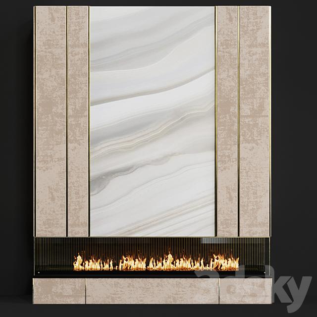 Contemporary fireplace 26