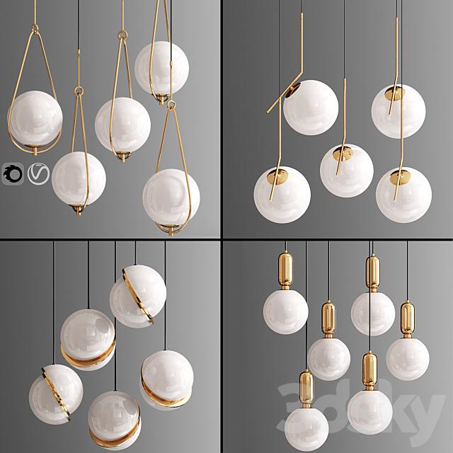 Ceiling Light Set 36