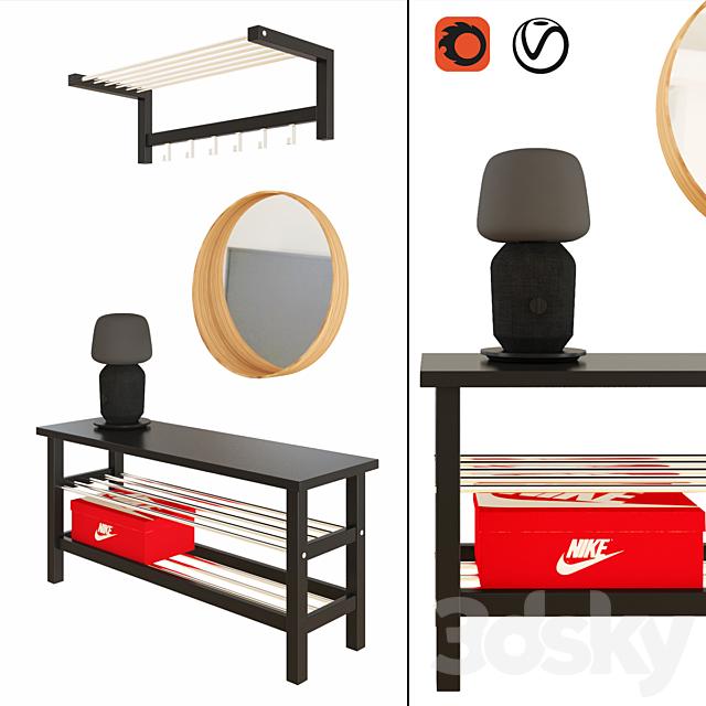 IKEA Tjusig bench