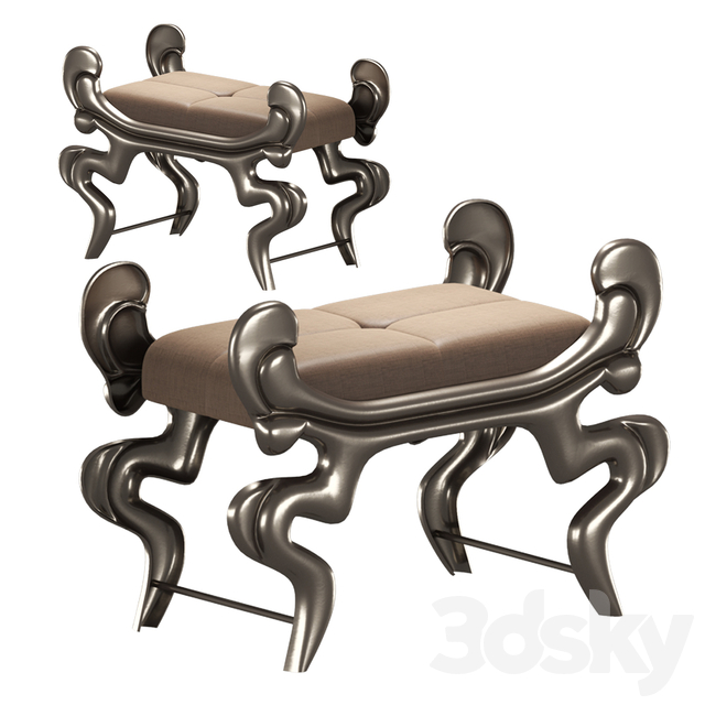 Hamilton conte barocco stool