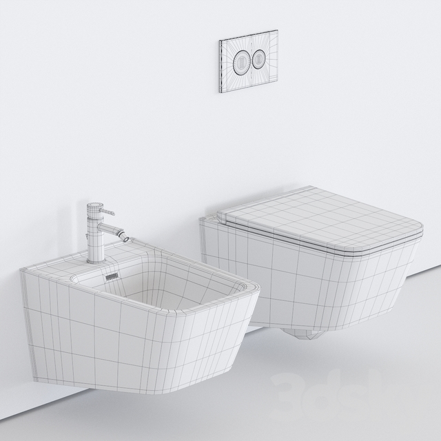 VitrA Bathrooms EQUAL Wall-Hung WC
