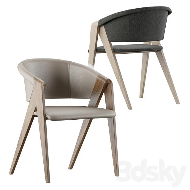 Designer armchair by Martin Ballendat