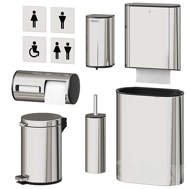 Accessories for public toilet Keuco Plan