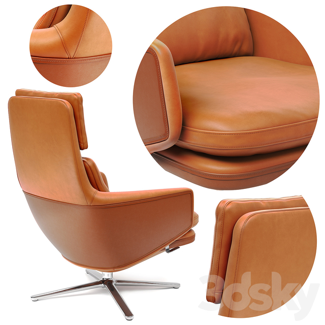 Vitra Grand Relax and Ottoman