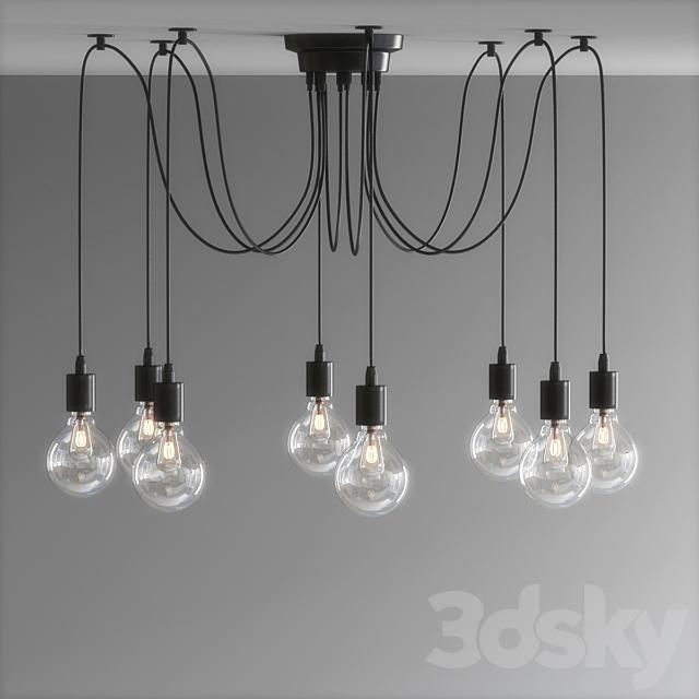 Wire Jungle Pendant Lights 02